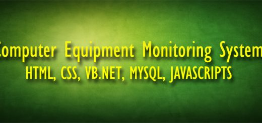 Computer Equipment Monitoring System