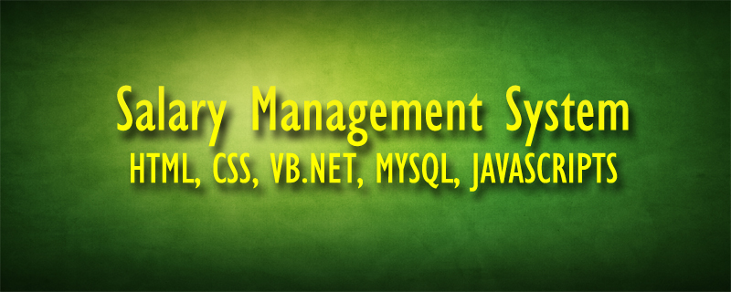 Download Salary Management System Using VB.NET